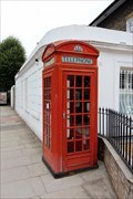 Image for Red Telephone Box - Southgate Road, London, UK