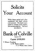 Image for Bank of Colville - Colville, WA - 1907