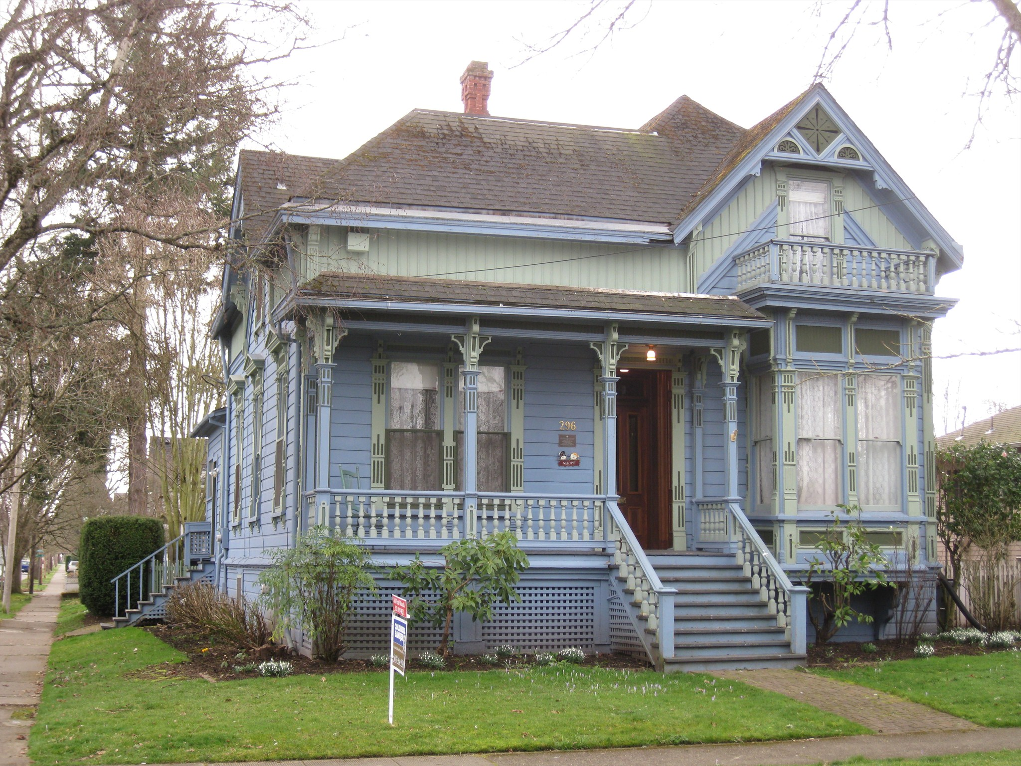 William H Byrd House Salem Oregon Victorian Houses