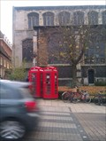Image for Pair of Red Telephone Boxes - St Andrew's, Norwich, Norfolk