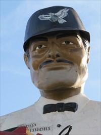 Facial Close-up of Tony, Los Angeles, CA