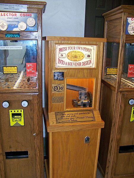 smasher machine locations