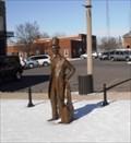 Image for Lincoln visits Hillsboro, Illinois.