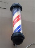 Image for Barzdaskuciai Barber Shop Pole - Vilnius, Lithuania