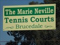 Image for The Marie Neville Tennis Courts - Brucedale, NSW, Australia