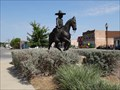 Image for Long-Awaited 'Mexican Cowboy' Sculpture Installed in Fort Worth - Fort Worth, TX