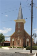Image for FIRST -- Baptist Church organized west of the Nueces -- Carrizo Springs TX