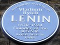 Image for Vladimir Ilyich Lenin - Tavistock Place, London, UK