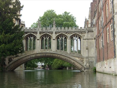 The Bridge of Sighs, St.John's College, University of Cambridge
