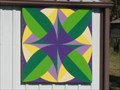 Image for Bay Leaf Barn Quilt, Woodsgift Farm  -  Jearoldstown, TN