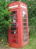 Image for Red Telephone Box - High Street, Gayton, Northamptonshire, UK