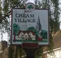Image for Cheam Village Sign, Cheam Village, Surrey, UK
