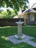 Image for Sundial - St James' Cemetery - Toronto, Ontario, Canada
