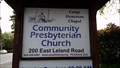 Image for Community Presbyterian Church - Pittsburg, CA