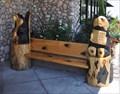 Image for Black Bear Bench #1