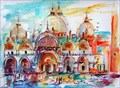 Image for Saint Mark's Basilica by Ginette Callaway  - Venecia, Italy