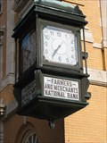 Image for Farmers and Merchants National Bank Clock, Winchester, VA