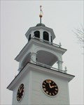 Image for First Baptist Church Clock  -  New London, NH