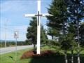 Image for La croix de la Route du Golf, Lac-Etchemin, Qc, Canada