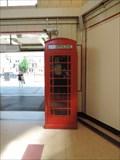 Image for Red Telephone Box - Upminster Bridge Station, Upminster Road, London, UK