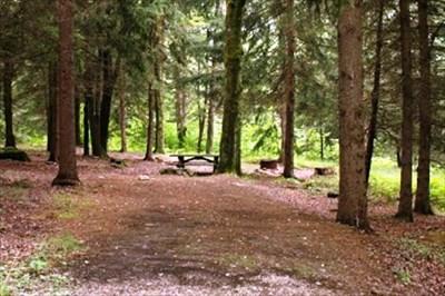 Upper Loop (Rustic) Campsite