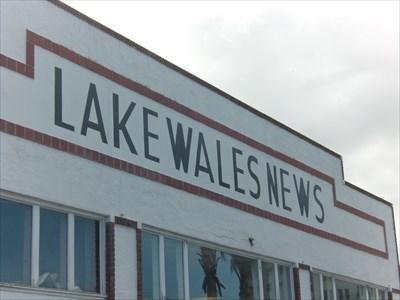 Lake Wales News, Lake Wales.