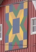 Image for Highway 1 Barn Quilt - Martelle, IA