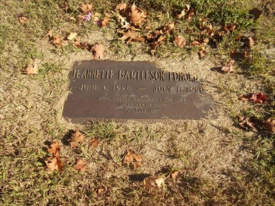 Here is the grave of his wife, buried nearby.