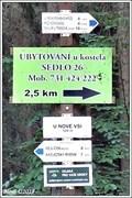 Image for Rozcestník turistických tras - U Nové vsi, Nová ves, CZ