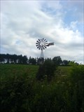 Image for small water pumping windmill near Curgy - Bourgogne - France