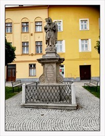 Saint Joseph with the Infant Jesus (Svatý Josef Pestoun) - Zlaté Hory