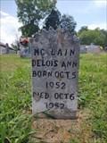 Image for Delois Ann McLain ~ North Fork Baptist Church Cemetery ~ Hawkins County, Tennessee