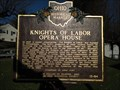 Image for Knights of Labor opera house Shawnee Ohio historical marker #13-64