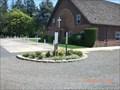 Image for Triple pole at Zion Mennonite Church - near Hubbard, Oregon