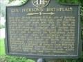 Image for Gen. Iverson's Birthplace-GHM 084-6-Jones Co