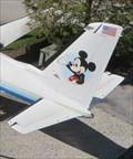 Image for Walt Disney's Private Plane - Satellite Oddity - Disney's Hollywood Studios, Florida, USA.