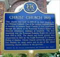 "Image for ""CHRIST CHURCH 1819"" ~ Amherstburg"