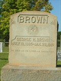 Image for George H. Brown - New Prospect Baptist Cemetery, Laurens County, SC