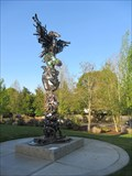 Image for Totem of Recycled Parts, Lake Oswego, OR