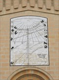 Image for Fenech Sundial on St Sebastian Church, Qormi, Malta