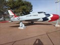 Image for Republic F84F Thunderstreak 51-1776 - Indian Springs, NV