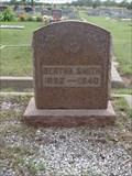Image for Bertha Smith - Jackson Cemetery - Krum, TX
