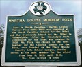 Image for Martha Louise Morrow Foxx - Simpson County, Mississippi