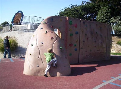 If this one is too small for you, I know of a climbing gym about 4 miles North.