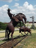 Image for Cowboy and Steer - Stamford, TX