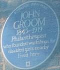 Image for John Groom - Sekforde Street, London, UK