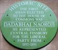 Image for Dadabhai Naoroji - Roseberry Avenue, London, UK