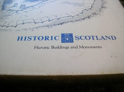 Historic Scotland corner of board