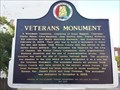 Image for Wilcox County Veterans Monument - Camden, AL