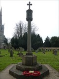 Image for Combined WWI/WWII stone cross, St Swithun - Leadenham, Lincolnshire